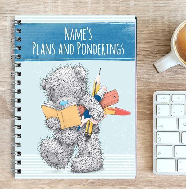 Tatty Teddy Plans & Ponderings Notebook