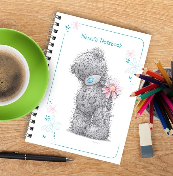 Me to You Personalised Daisy Notebook