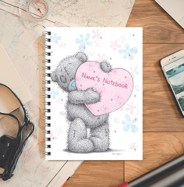 Me to You Heart Personalised Notebook