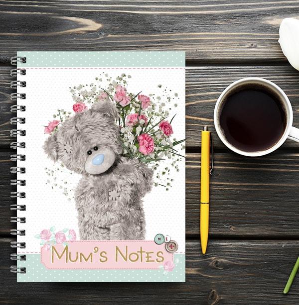 Mum's Notes Tatty Teddy Notebook