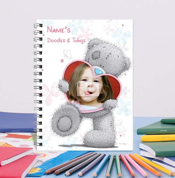 Tatty Teddy Photo Love Heart Notebook, Me to You