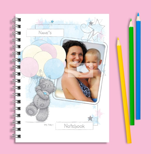 Me to You Balloons Photo Upload Notebook