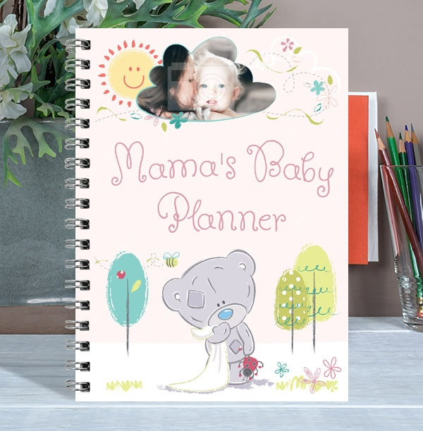 Mama's Baby Planner Personalised Notebook, Me To You
