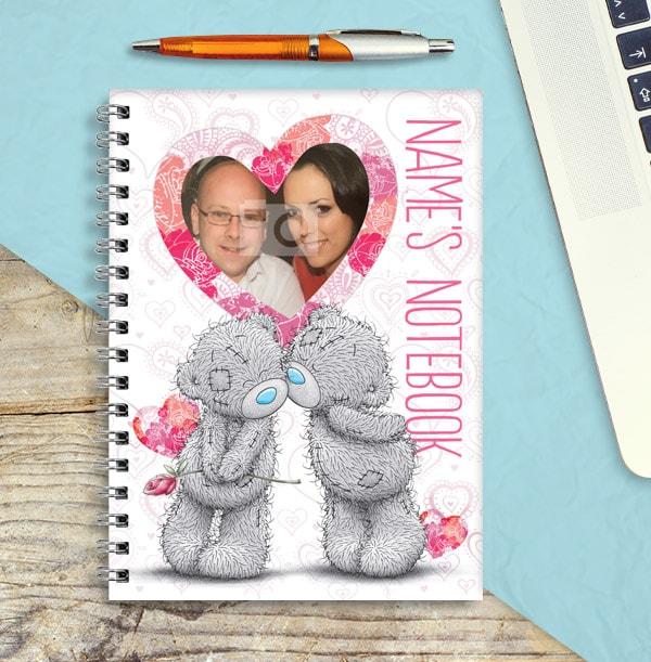 Tatty Teddy Romantic Name & Photo Notebook