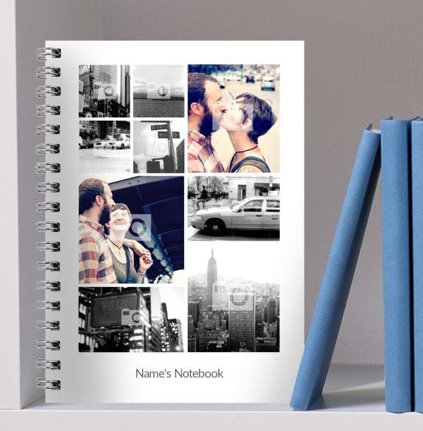 9 Photo Upload Notebook