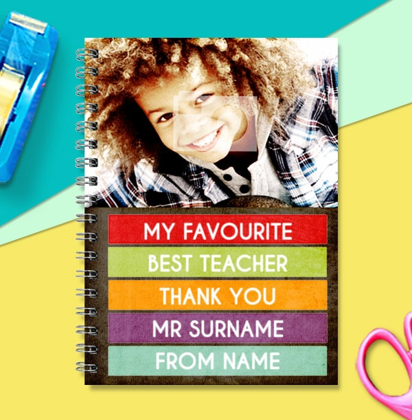 My Favourite Teacher Photo Notebook