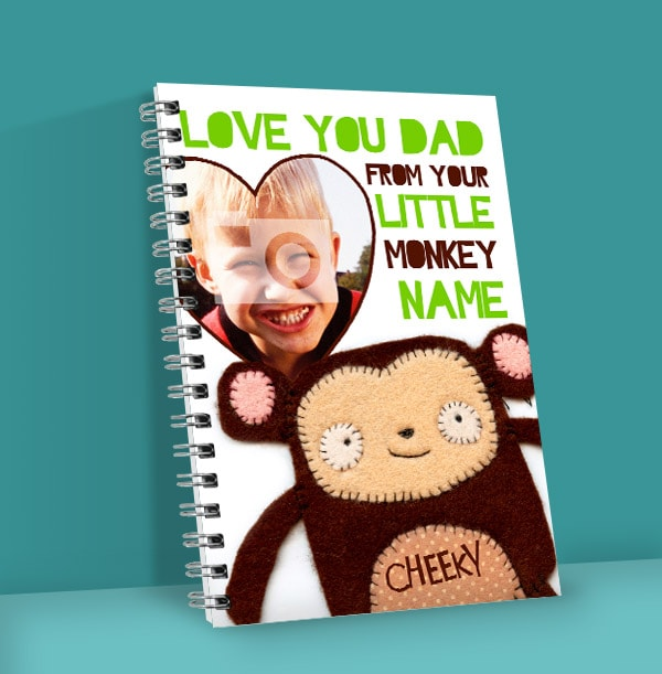 O Sew Cute Father's Day Notebook