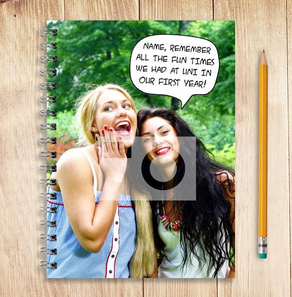 Quotation Photo Upload Notebook