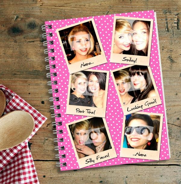 Pink 6 Photo Polaroid Notebook