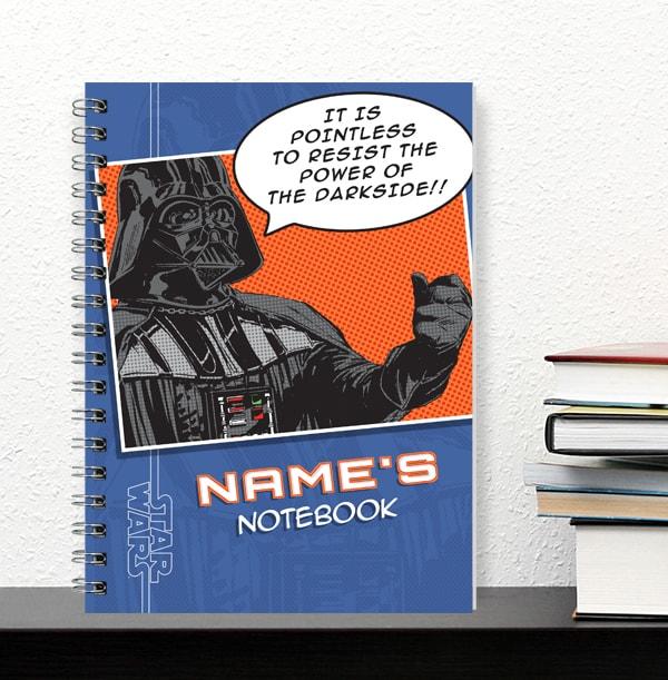Darth Vader Personalised Notebook - Star Wars