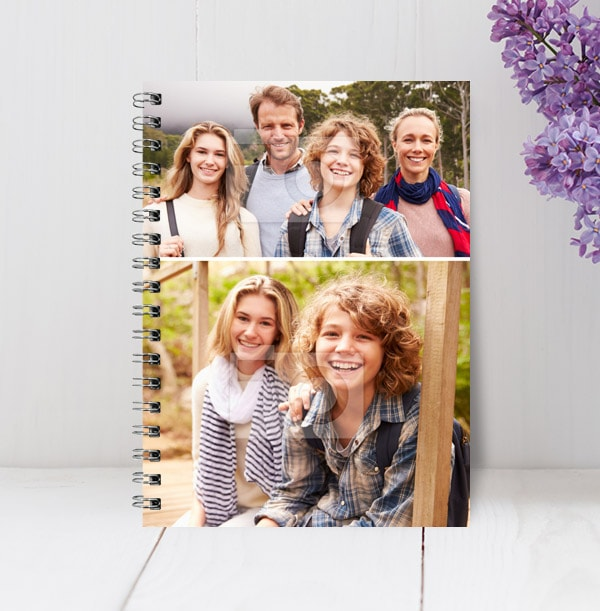 Double Photo Notebook