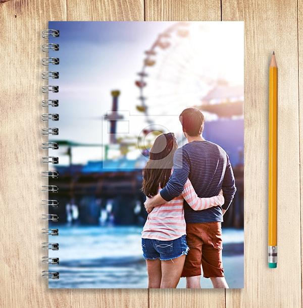 Full Photo Valentines Notebook