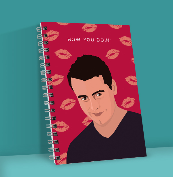 How You Doin' Personalised Notebook
