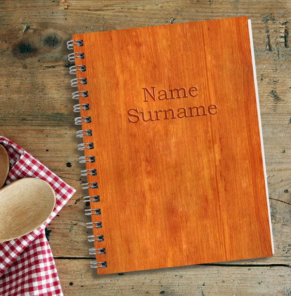 Wooden Look Notebook