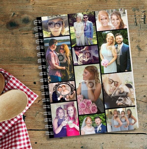 12 Photo Collage Notebook - Essentials