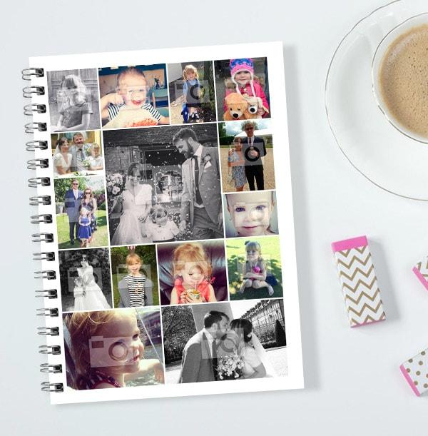 15 Photo Collage Notebook - Essentials
