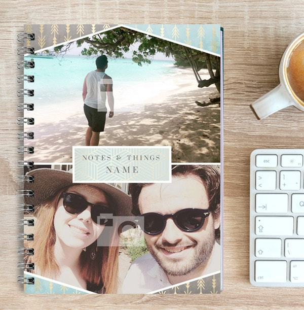 Notes & Things Multi Photo Notebook