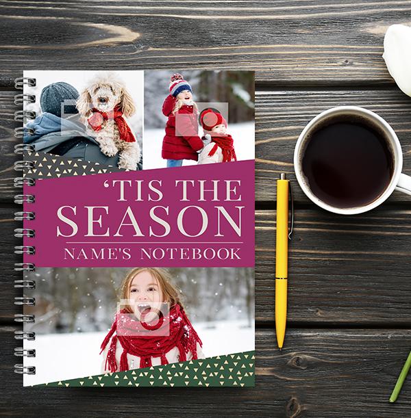 Tis The Season Photo Notebook