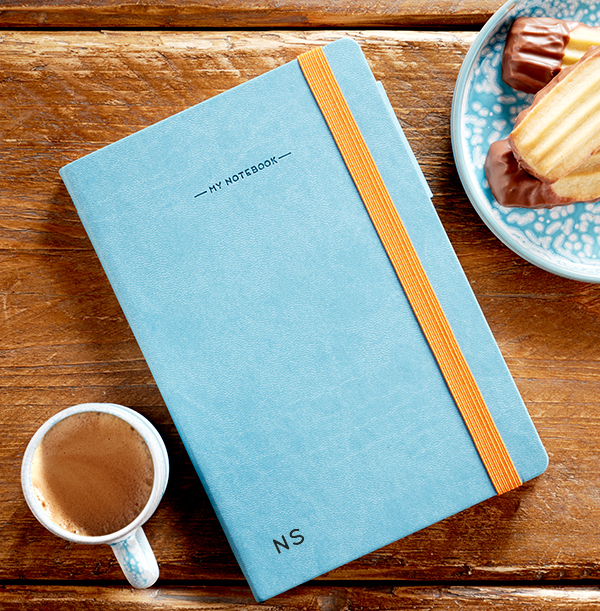 Initials Engraved Legami Notebook