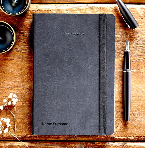 Name Engraved Legami Notebook