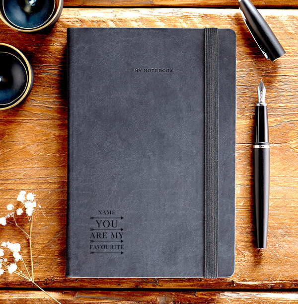 You Are My Favourite Engraved Legami Notebook