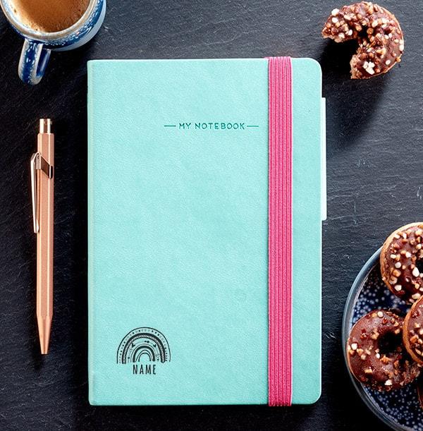 Rainbow Engraved Legami Notebook