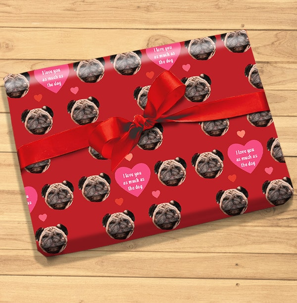 Dog Photo Wrapping Paper