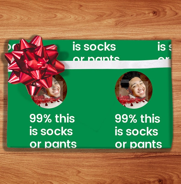 Funny Joke Wrapping Paper