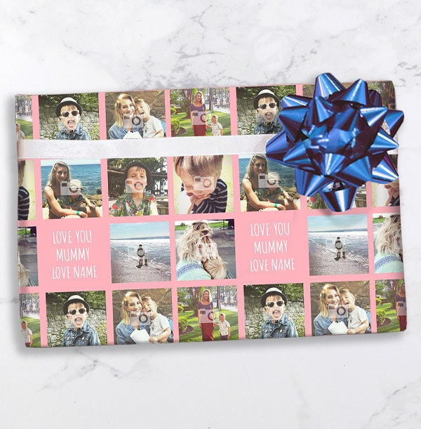Love You Mummy Photo Wrapping Paper