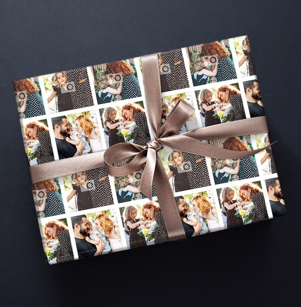 Full Photo Mother's Day Wrapping Paper
