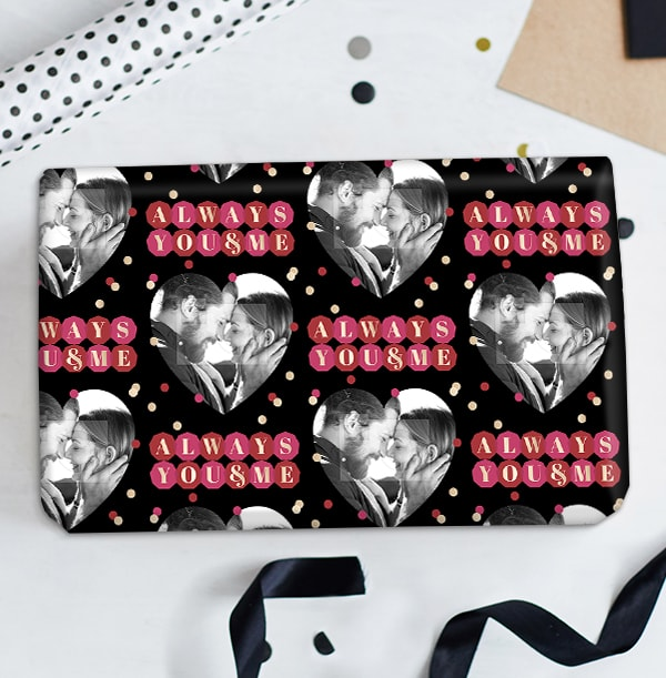 Always You and Me Photo Wrapping Paper