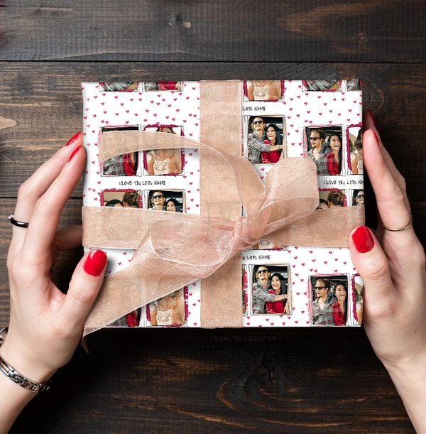 I Love You Lots Photo Wrapping Paper
