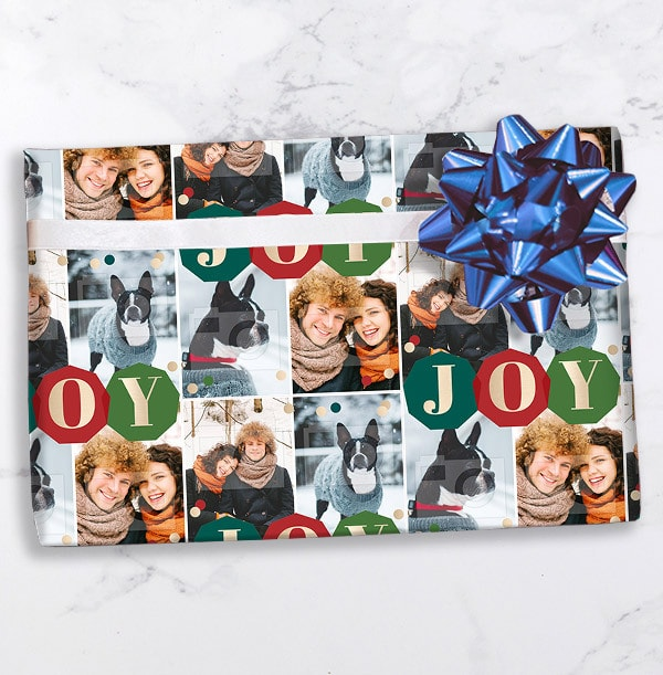 Joy Christmas Wrapping Paper