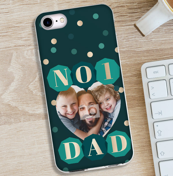 Number 1 Dad iPhone Case