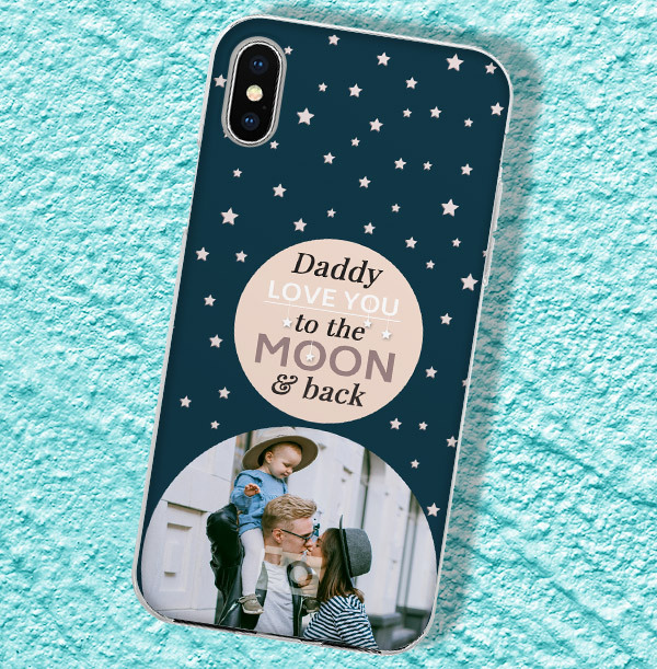 Daddy Love you to the Moon and Back iPhone Case