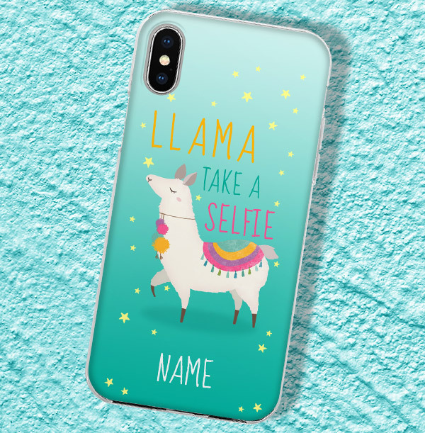 Llama Personalised iPhone Case