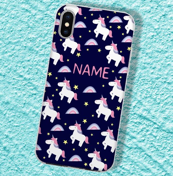 Personalised Unicorn iPhone Case