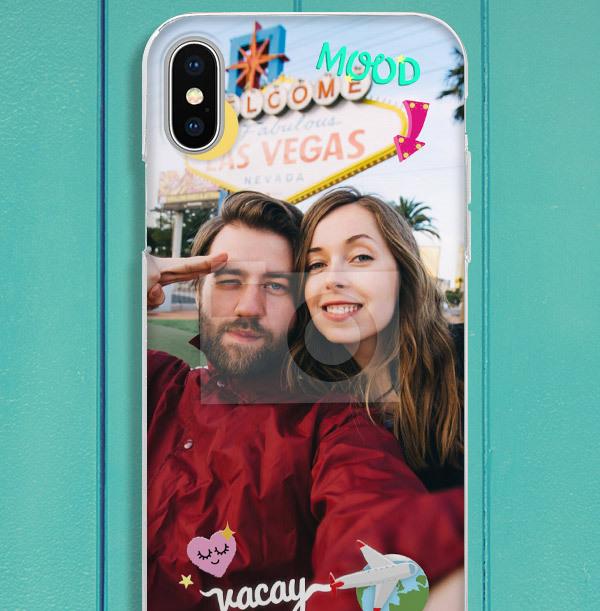 Holiday Full Photo iPhone Case