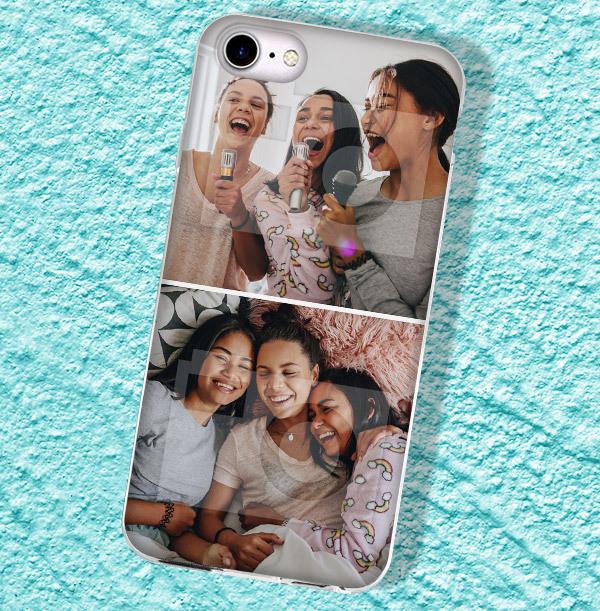 2 Photo Upload iPhone Case