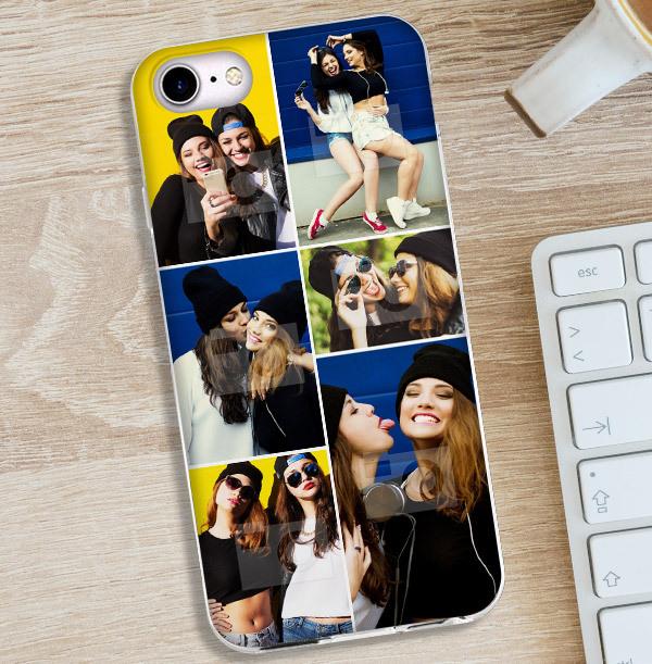 6 Photo Upload iPhone Case