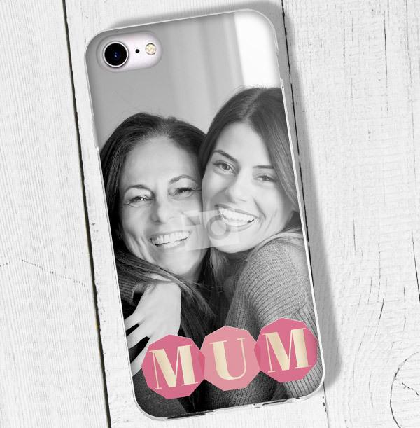Shine Bright Mum iPhone Case