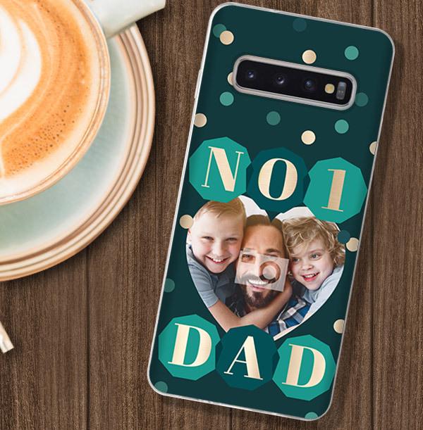 Number 1 Dad Samsung Phone Case