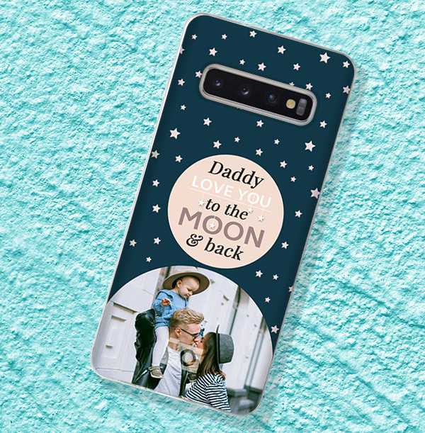 Daddy Love you to the Moon and Back Samsung Phone Case
