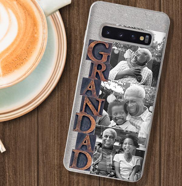 Grandad Photo Upload Samsung Case