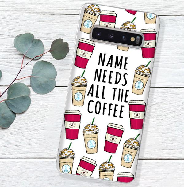 Need Coffee Personalised Samsung Phone Case