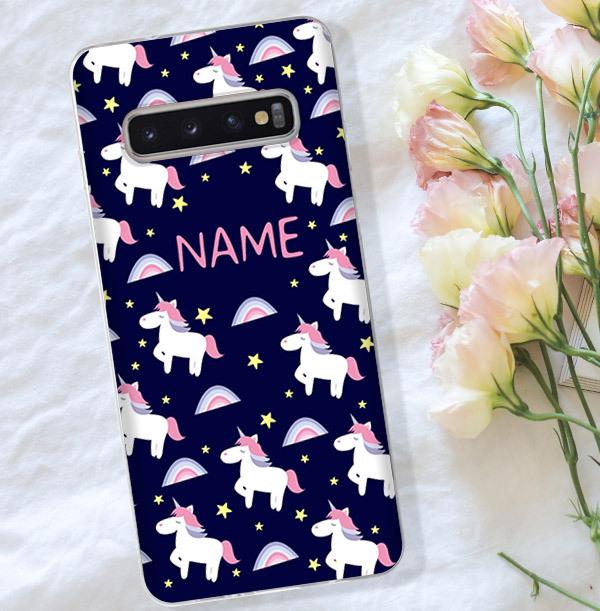 Personalised Unicorn Samsung Phone Case