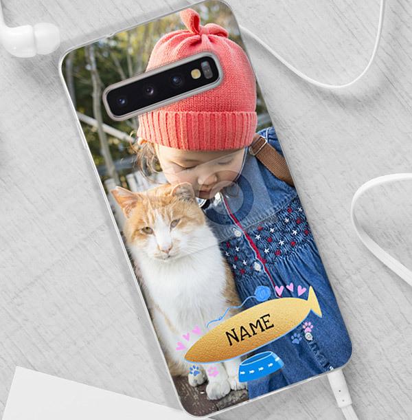 Pet Cat Photo Samsung Phone Case