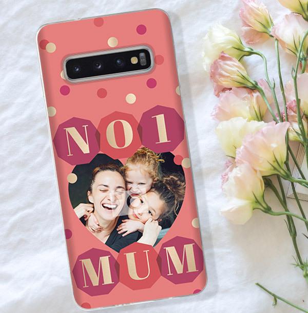 Shine Bright No1 Mum Samsung Phone Case