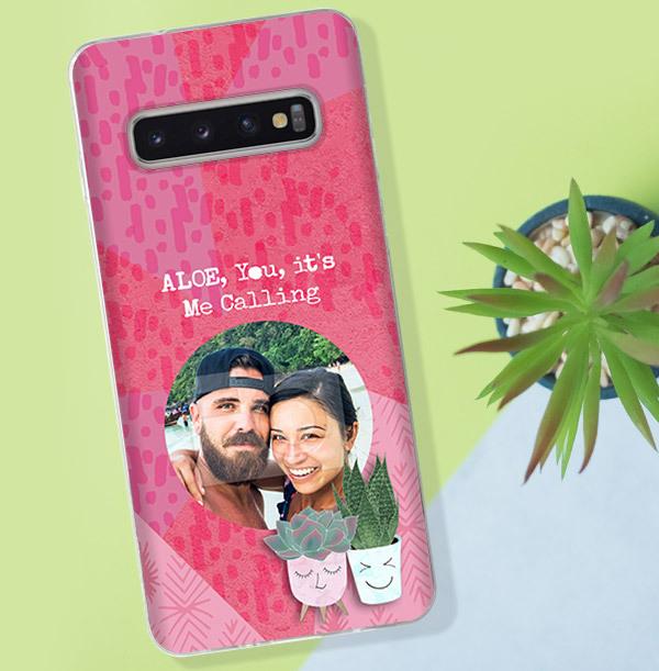 Aloe You Photo Samsung Phone Case
