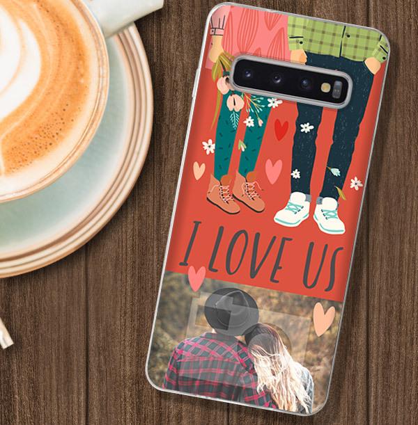 I Love Us Photo Samsung Phone Case